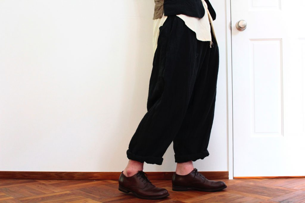 ARAKI YUU Linen Pyjama Pants