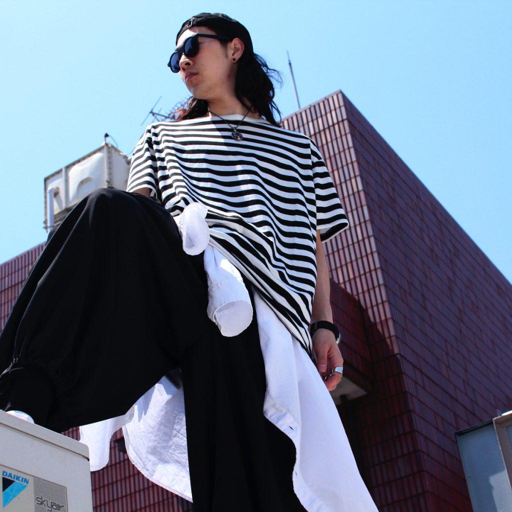 YOHJI YAMAMOTO POUR HOMME  T-shirt STYLE 2