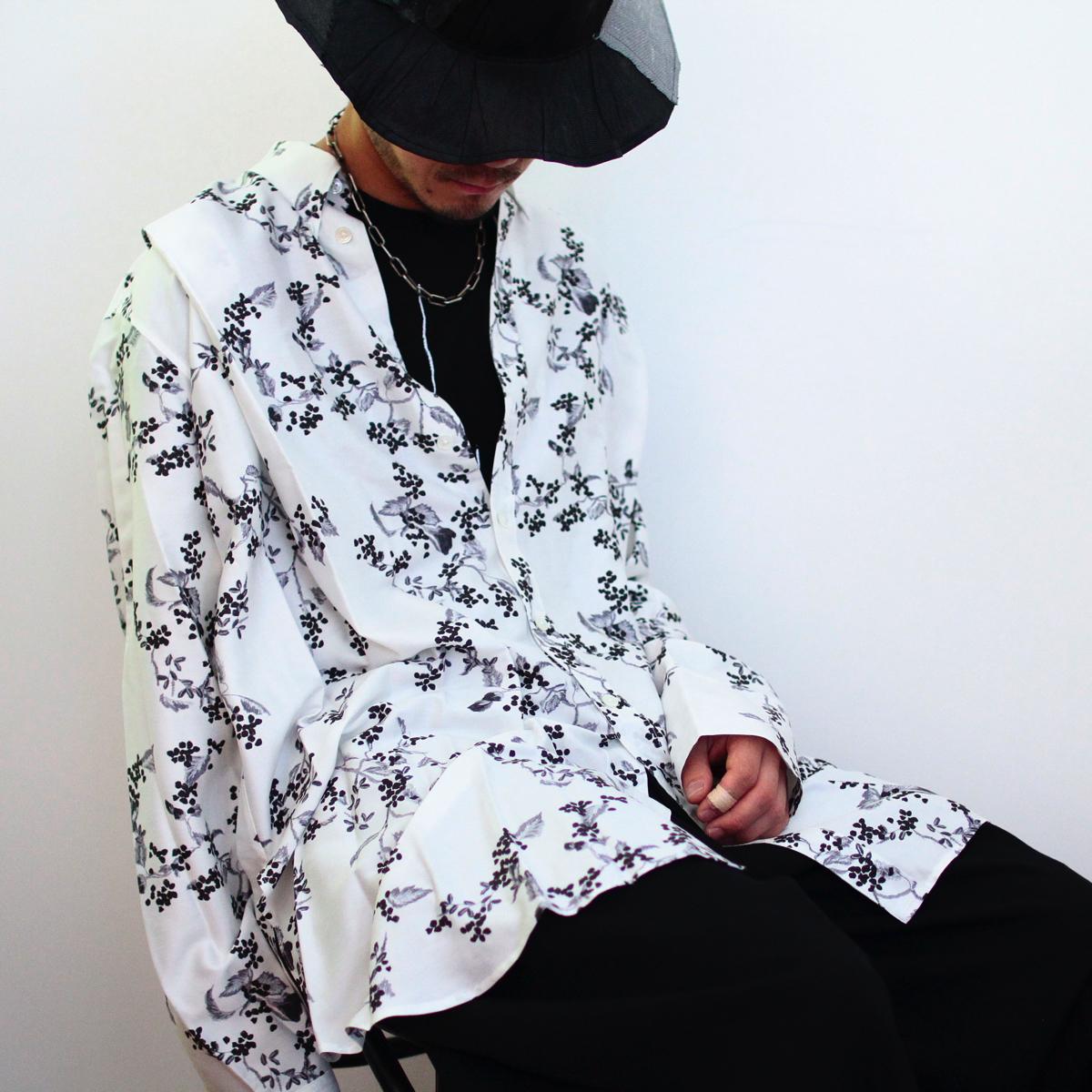 RESTOCK!!! ANN DEMEULEMEESTER Blossom Shirt