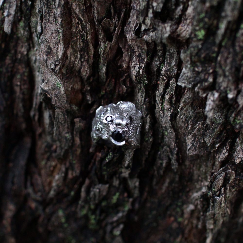 ALICE WAESE  LION RING