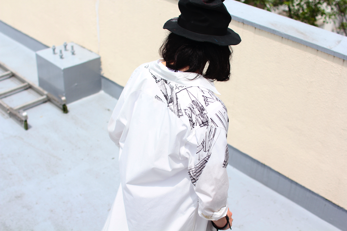Ground Y × GHOST IN THE SHELL/攻殻機動隊 City PT Shirt 2