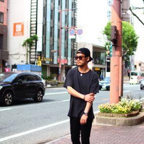 KAZUYUKI KUMAGAI Border T-Shirt