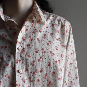 Geoffrey B.Small  handmade classic floral shirt