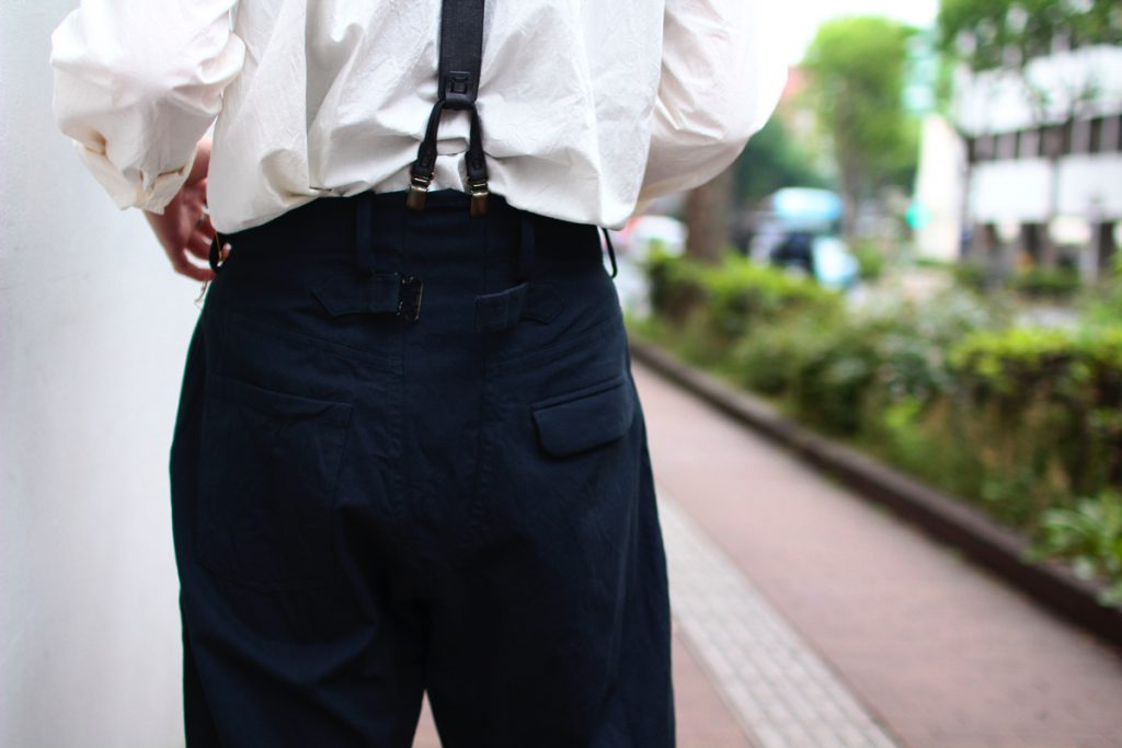 ARAKI YUU Cropped Pants