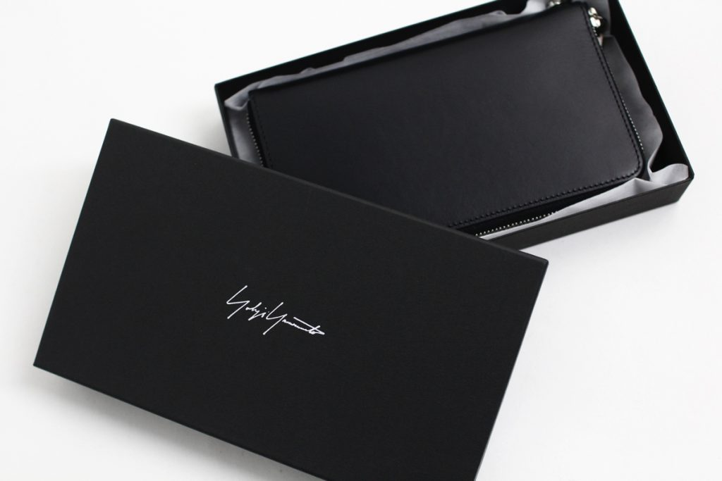 YOHJI YAMOTO Leather Wallet