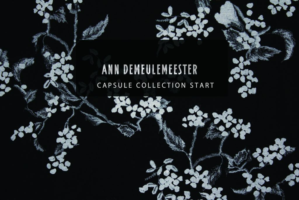 ANN DEMEULEMEESTER CAPSULE COLLECTION now on sale