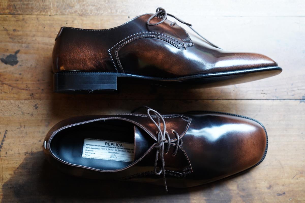 MAISON MARGIELA REPLICA Lace Up Shoes