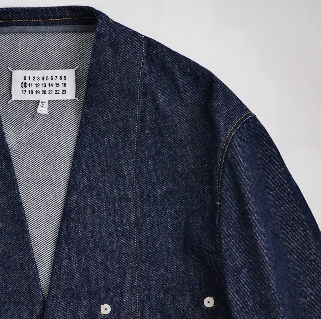 Maison Margiela Denim No Collar Jacket
