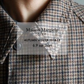 Maison Margiela 2018-19 Autumn/Winter Start
