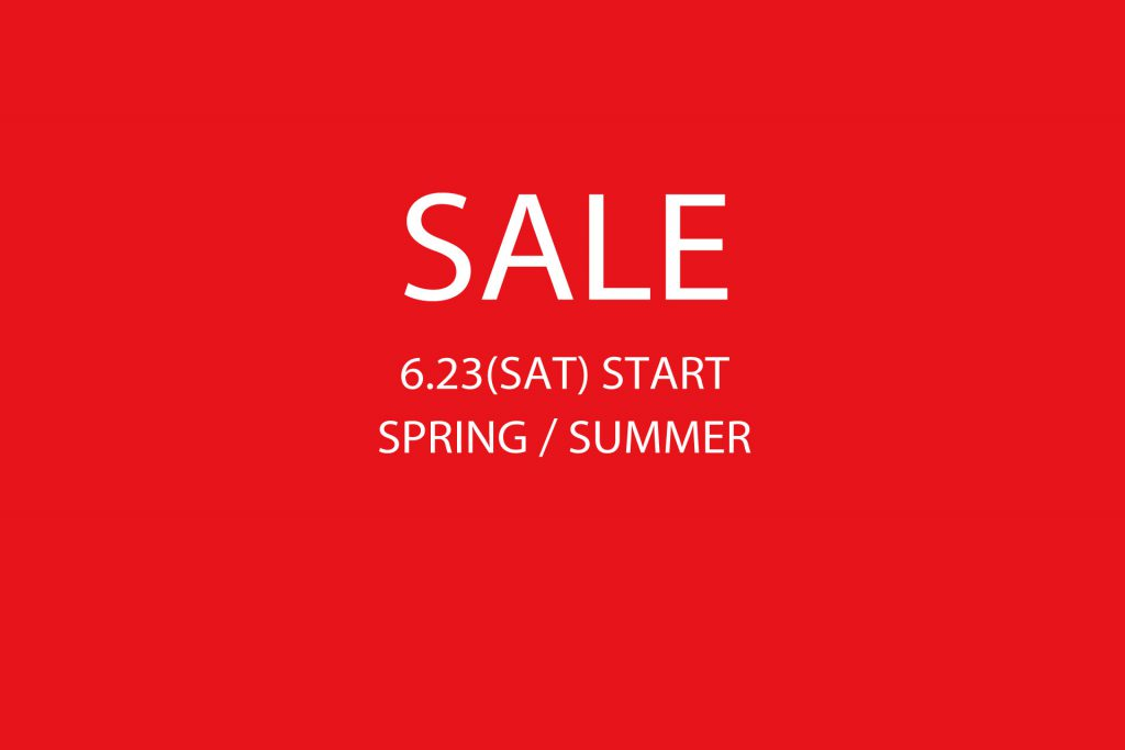 HUES SUMMER SALE 6.23(Sat) START!!!