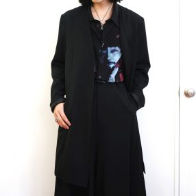 YOHJI YAMAMOTO No Collar Jacket
