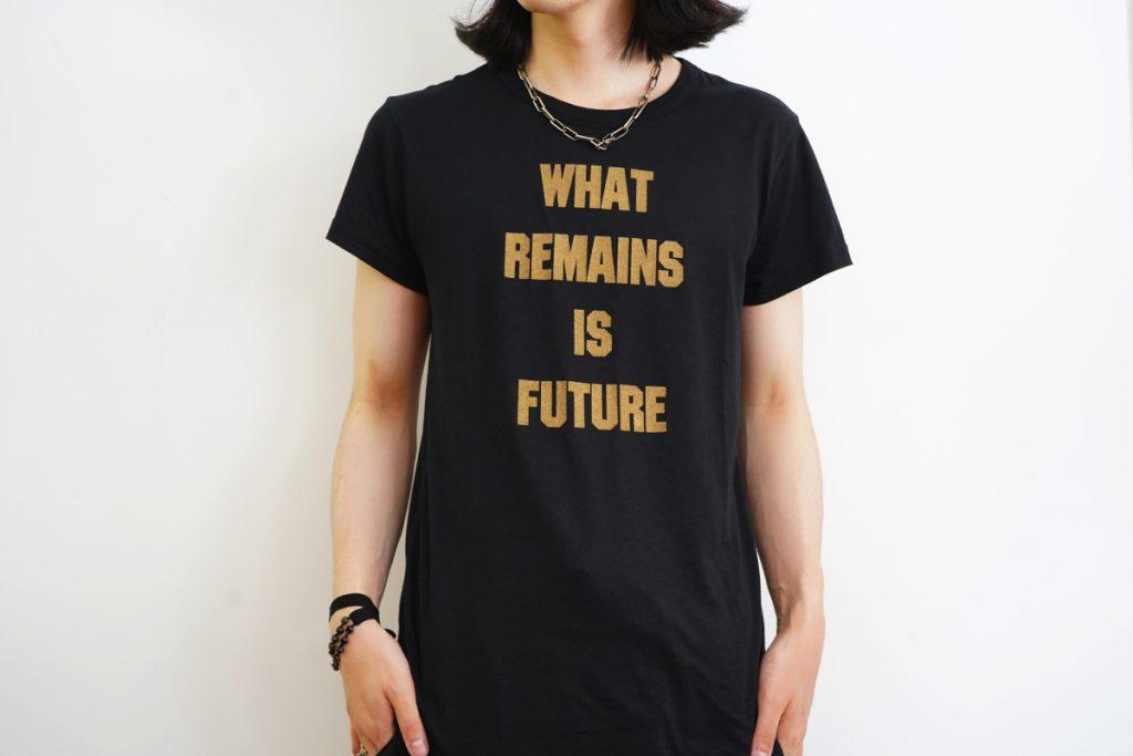 """ANN DEMEULEMEESTER Print """"REMAINS"""" T-shirt"""