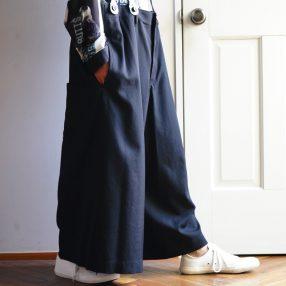 YOHJI YAMAMOTO Suspenders Pants