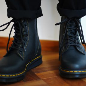 Dr.Martens×Yohji Yamamoto CUBEFLEX 10hole Boots
