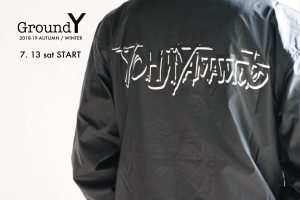 Ground Y 2018-19A/W 7.13(fri) START!!!