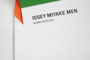ISSEY MIYAKE MEN 2018-19 AUTUMN WINTER START
