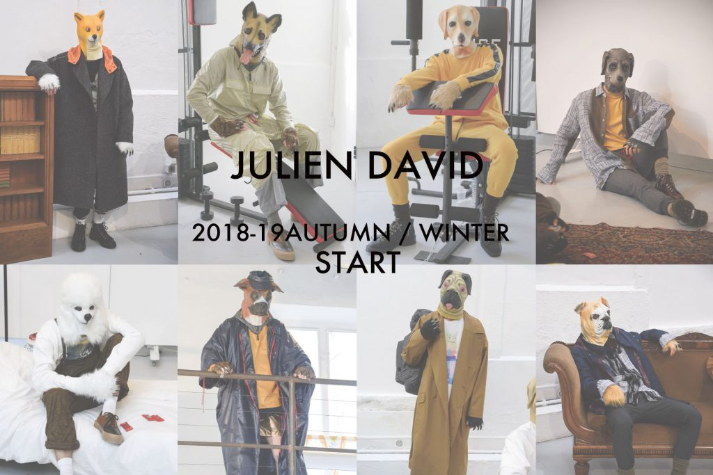 JULIEN DAVID 2018-19 AUTUMN / WINTER START