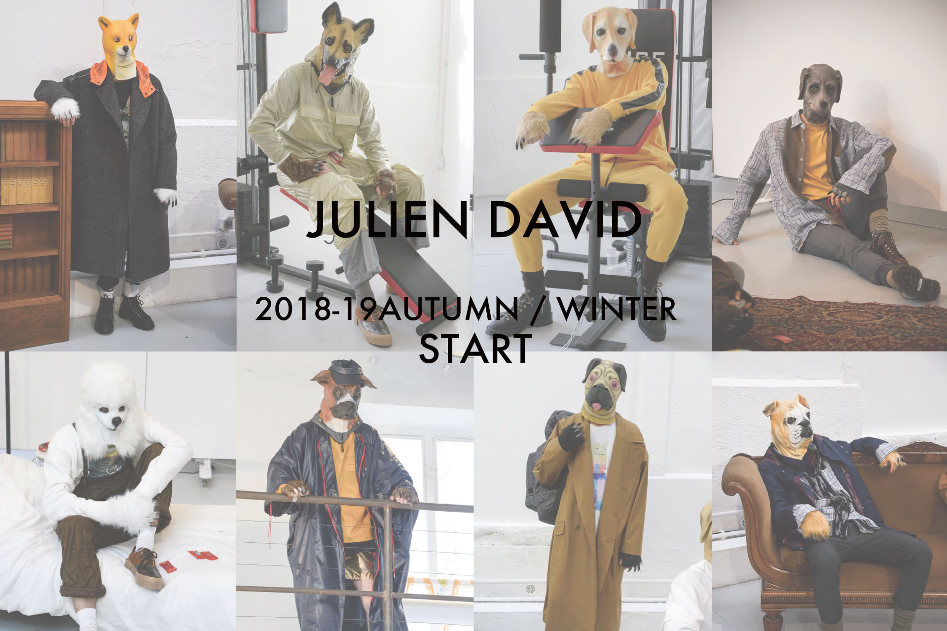 JULIEN DAVID 2018-19 AUTUMN / WINTER START