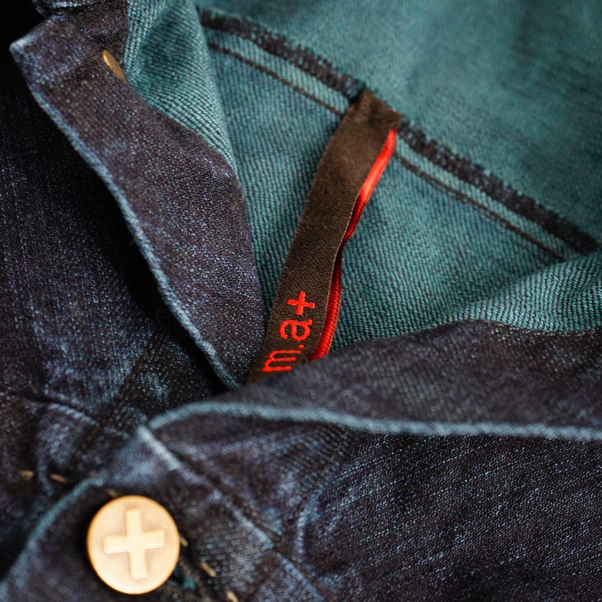 m.a+  denim jacket