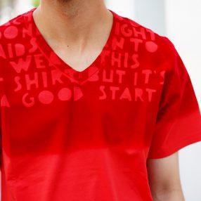 MAISON MARGIELA  AIDS T-Shirt