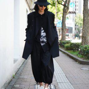 YOHJI YAMAMOTO Double High Neck Jacket