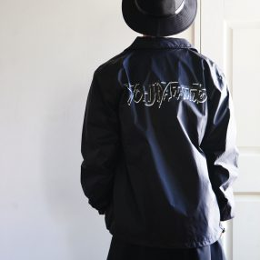Ground Y Double Graffiti Logo Coach Jacket