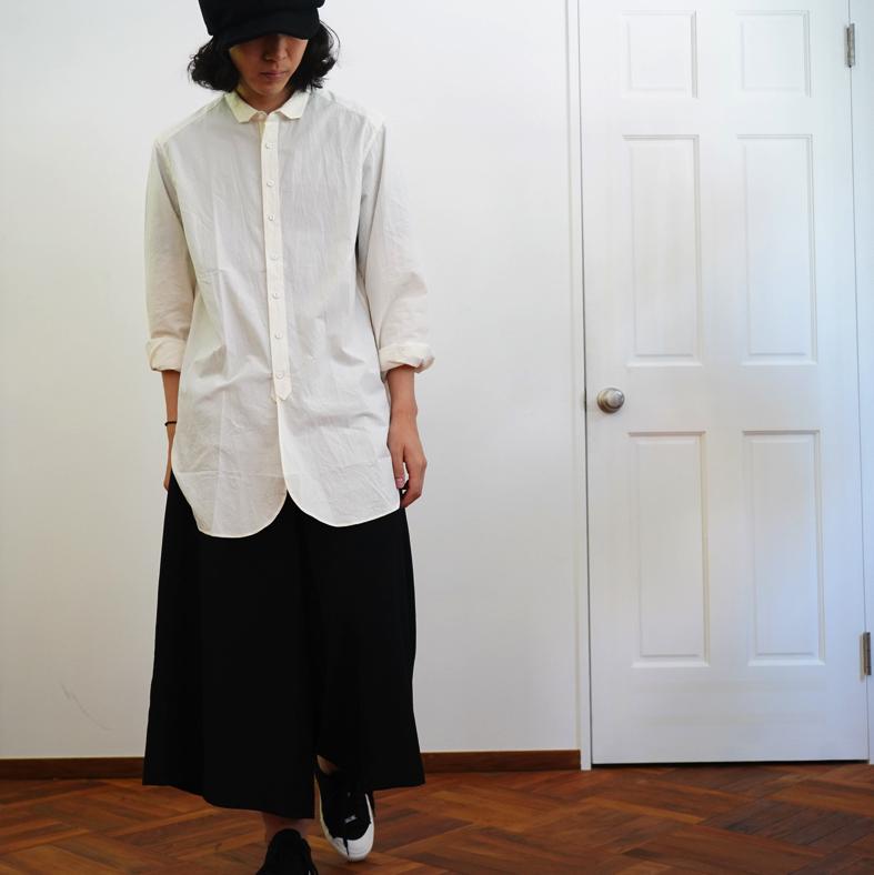ARAKI YUU Square Collar Shirt