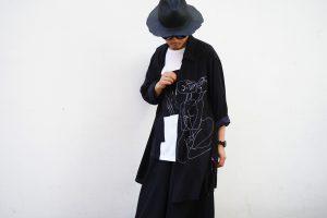YOHJI YAMAMOTO 【BLACK Scandal】Illustration Shirt