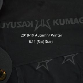KAZUYUKI KUMAGAI × NEW ERA 2018-19A/W 8.11(Sat)START