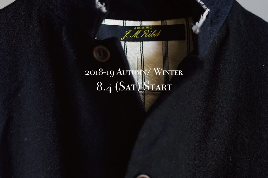 ARCHIVIO J.M.Ribot 2018Autumn&Winter START.
