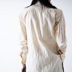 ELENA DAWSON  Long Shirt ECRU