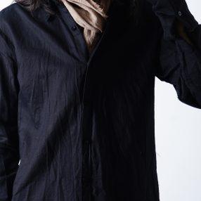 ELENA DAWSON  Long Shirt BLACK