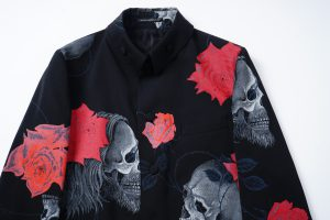 YOHJI YAMAMOTO LIMITED  Scull&Rose Zip Jacket  9.22 Drop!
