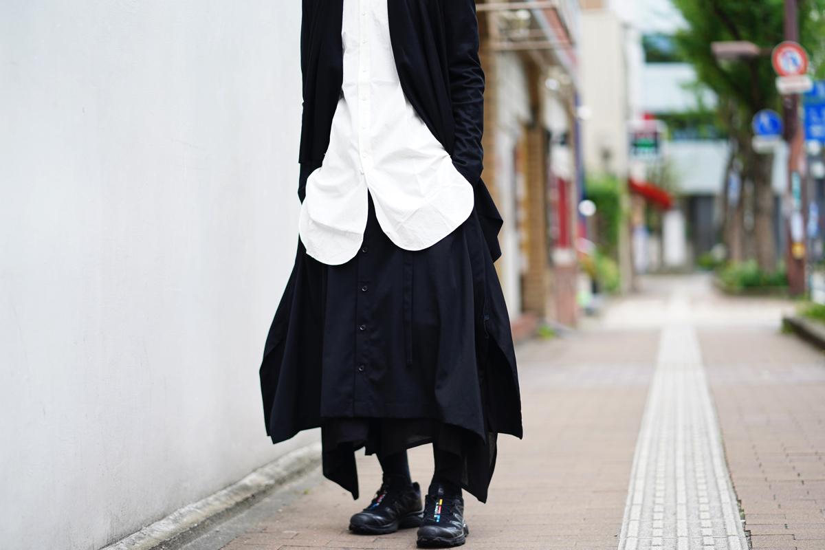 YOHJI YAMAMOTO BAT Skirt Pants