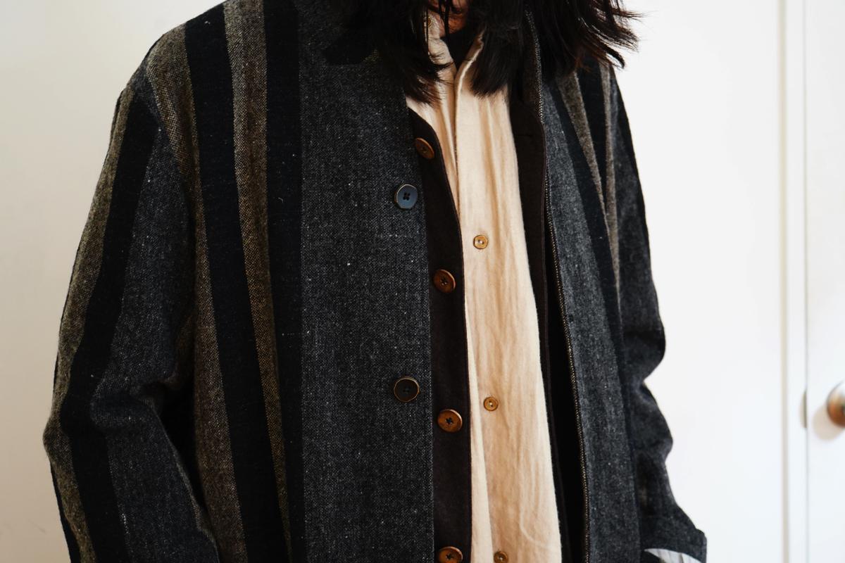 ARAKI YUU Atelier Stripe Coat