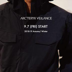 ARC'TERYX VEILANCE Autumn&Winter 2018 START