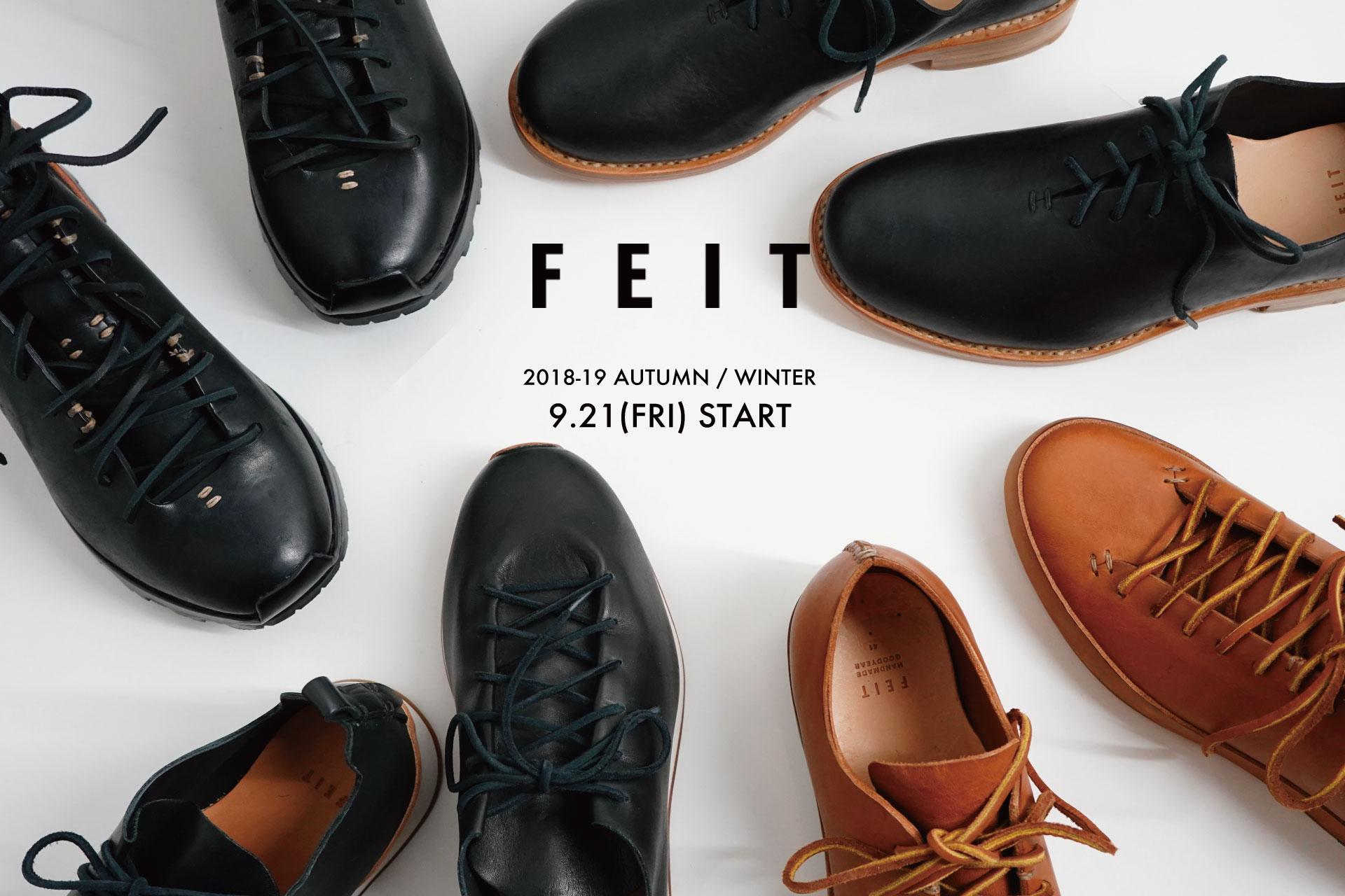 「FEIT」Autumn&Winter 2018 START