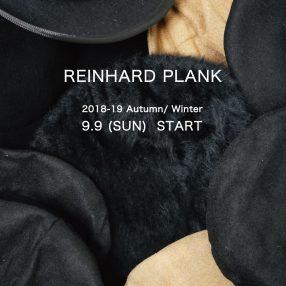 REINAHRD PLANK 18-19A/W START!!!
