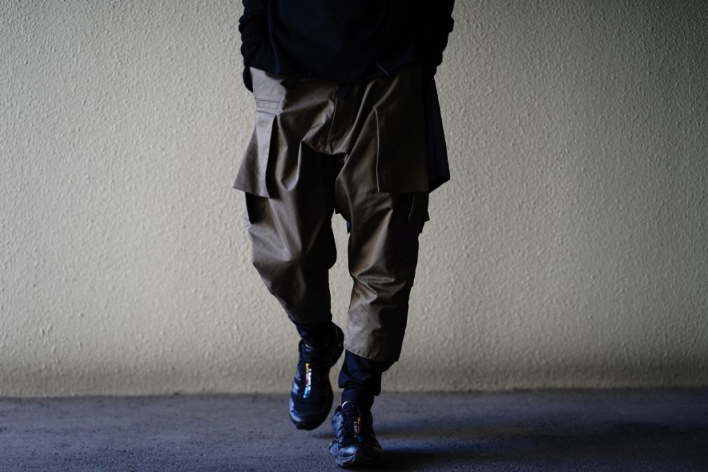 ACRONYM HD COTTON CARGO DRAWCORD TROUSER