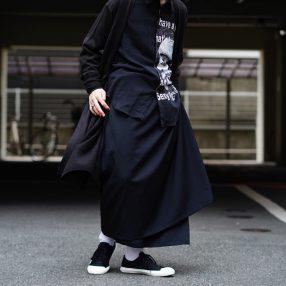 YOHJI YAMAMOTO Front Gathered Skirt