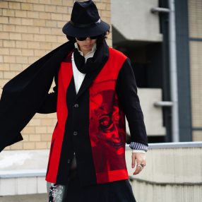 YOHJI YAMAMOTO Stole Flannel Jacket
