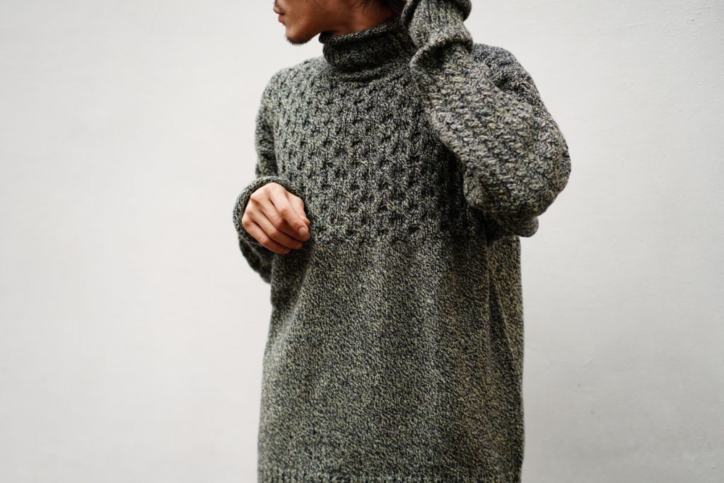 JULIEN DAVID  High Neck Knit