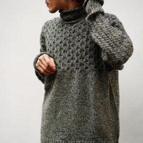 JULIEN DAVID  High Neck Knit