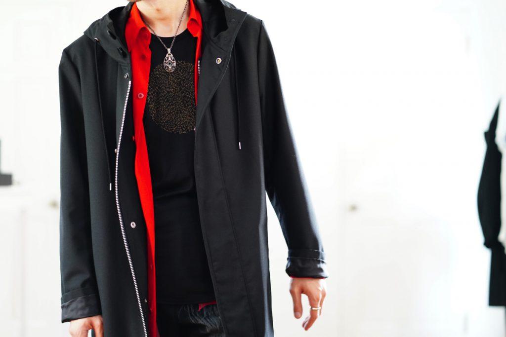 Ground Y Hooded Coat