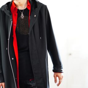 Ground Y Hooded Coat
