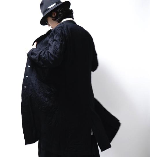 YOHJI YAMAMOTO New In Wrinkled Coat
