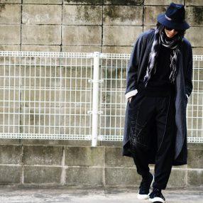 YOHJI YAMAMOTO 【BLACK Scandal】Spiderweb Pants 2