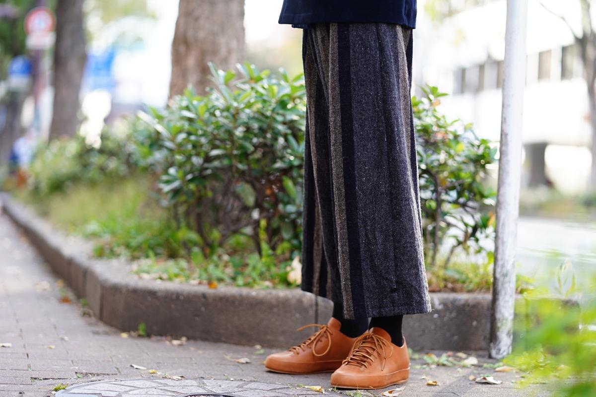 ARAKI YUU  Stripe Baggy Pants