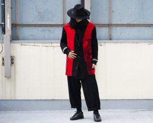 YOHJI YAMAMOTO Side Tuck Pants