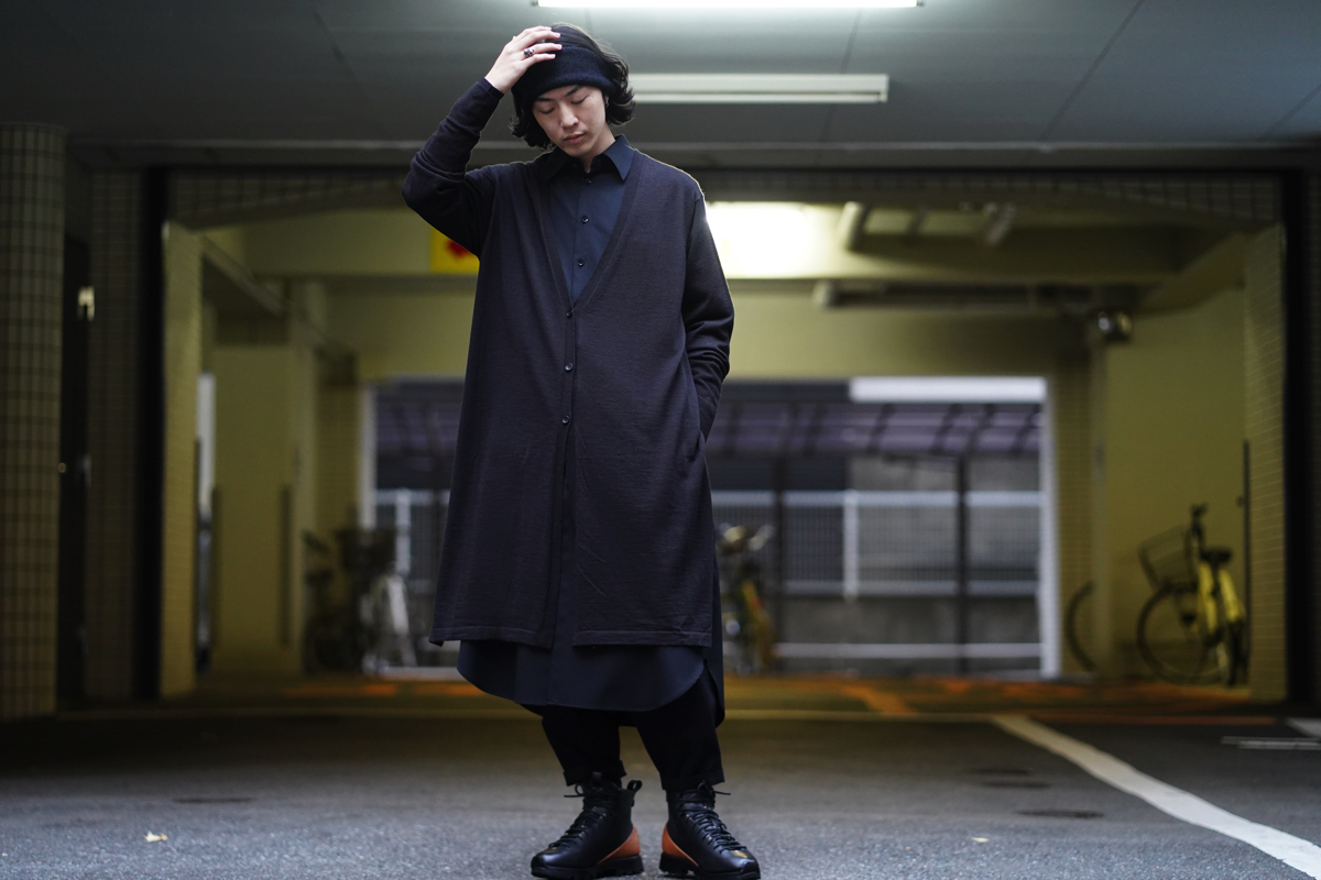 Ground Y Long Cardigan Recommend Style